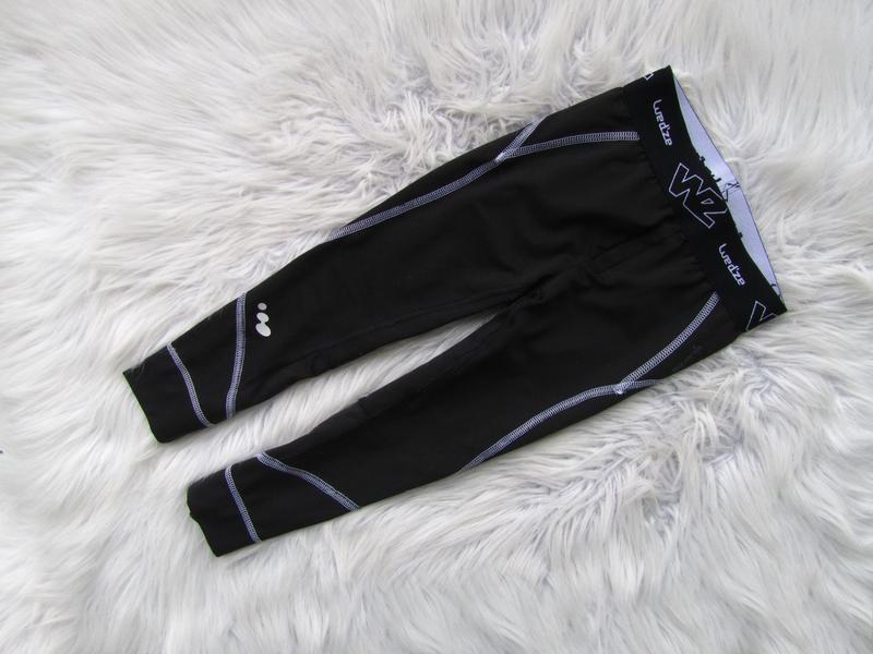Спортивные компрессионные штаны брюки лосины wed'ze decathlon