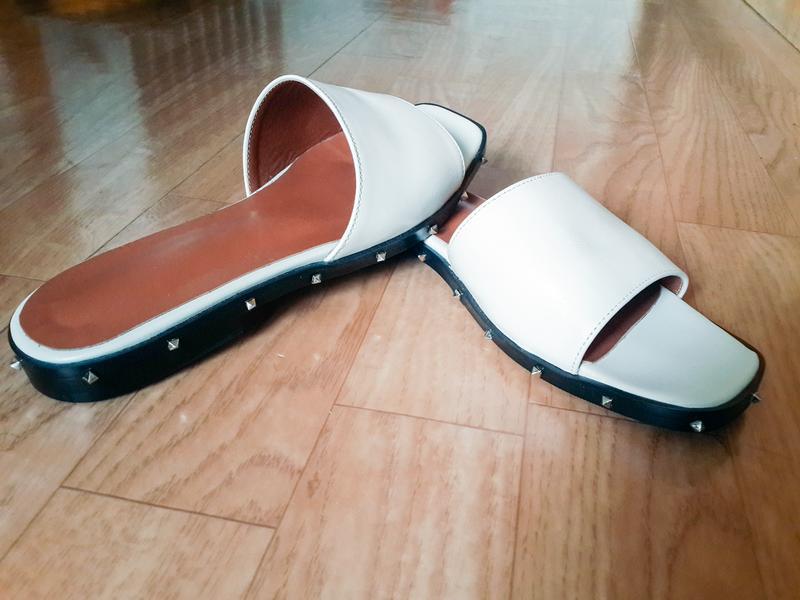 Продаю женские кожаные шлепанцы, сланцы, пляжная обувь - Фото 3