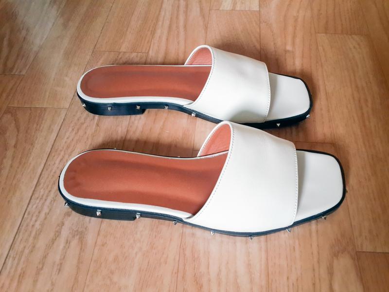 Продаю женские кожаные шлепанцы, сланцы, пляжная обувь - Фото 4