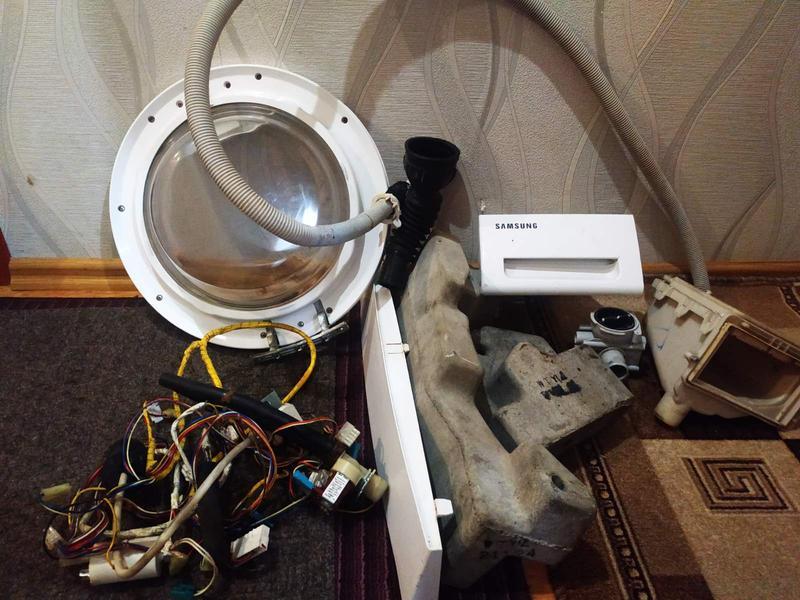 Запчасти до стиральной машины Samsung R843