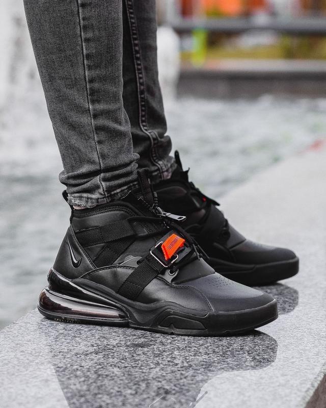 Nike Air Force 270 v2 мужские кроссовки найк 40-45 кожа новинка - Фото 8
