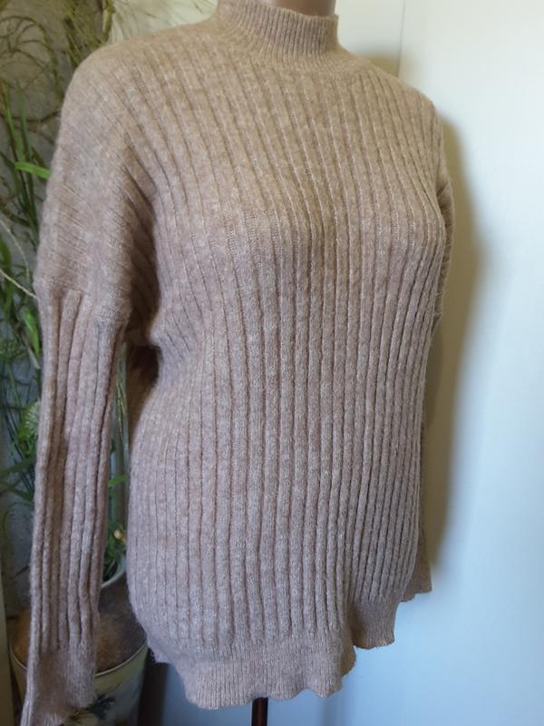 Классический теплющий свитер - Фото 5