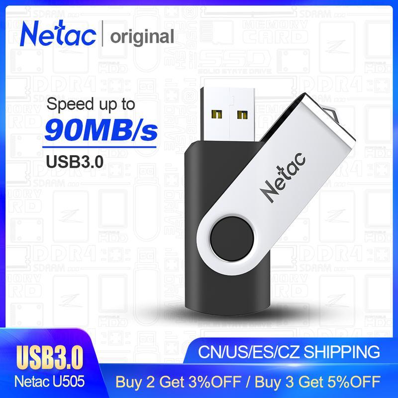 Флешка USB Flash 3.0 Netak 64 GB
