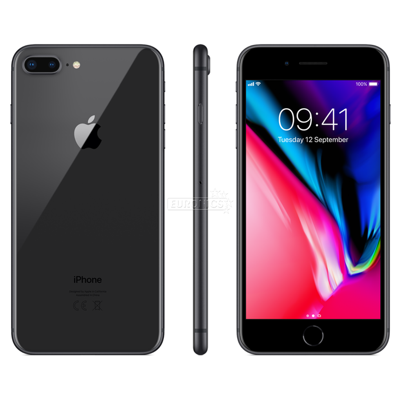 Apple IPhone 8 Plus space grey 256 gb