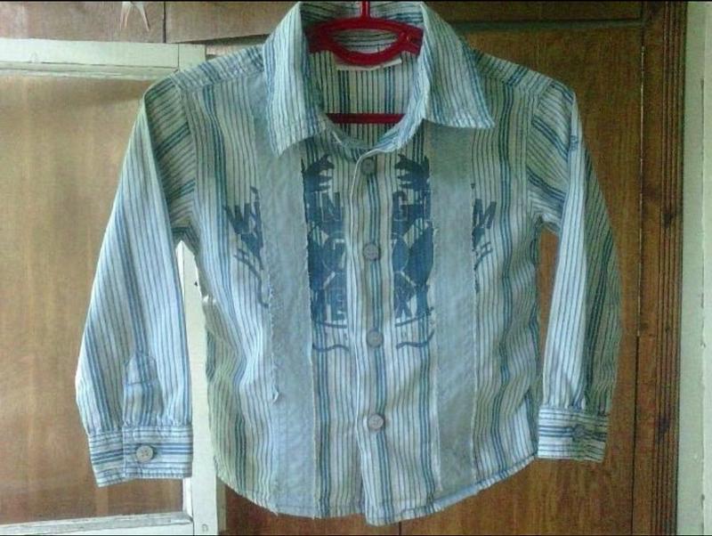 Стильная рубашка mexx 9-12 м