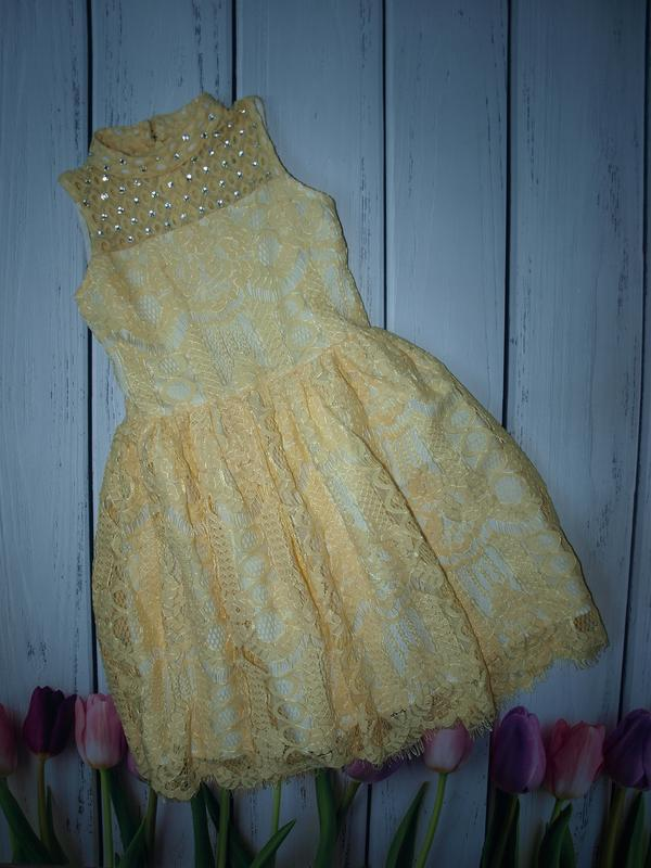 Нереально красивое нарядное платье river island