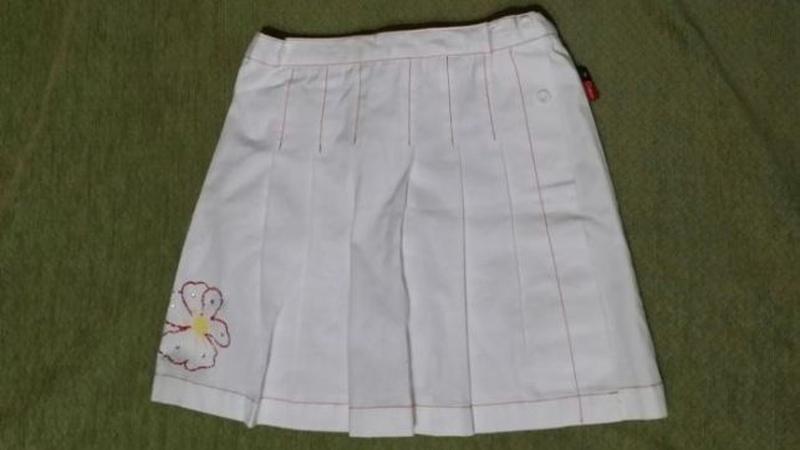 Белая юбка шорты для девочки