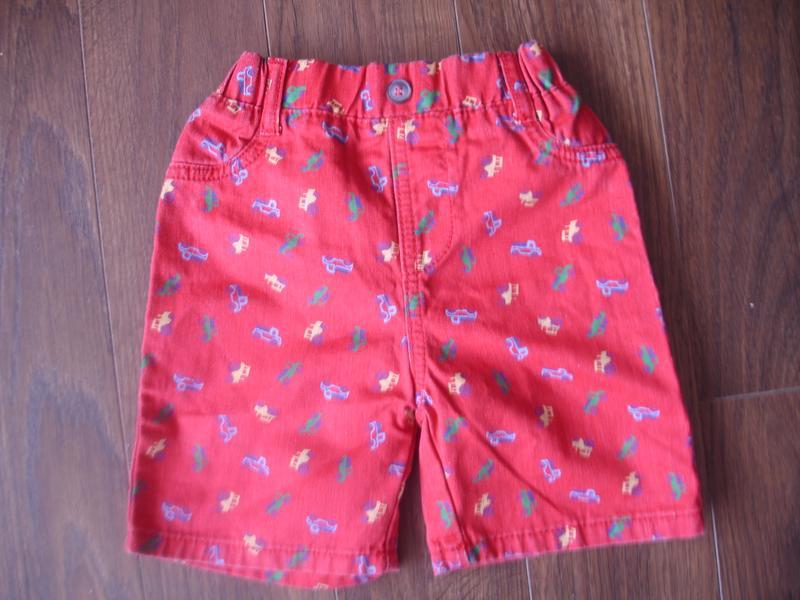 Фирменные яркие шорты мальчику 3-4 лет хлопок