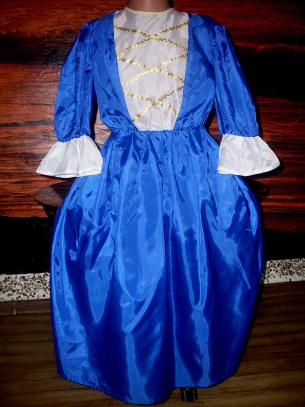 Платье маскарадное на рост 134-140 см