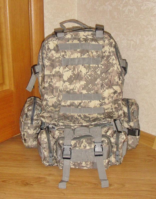 Тактический рюкзак Golan 50L. 72  часа. Новый. Куплен в Англии
