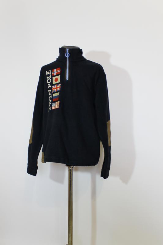 Теплая флисовая кофта/джемпер/свитер\свитшот от napapijri на 1...