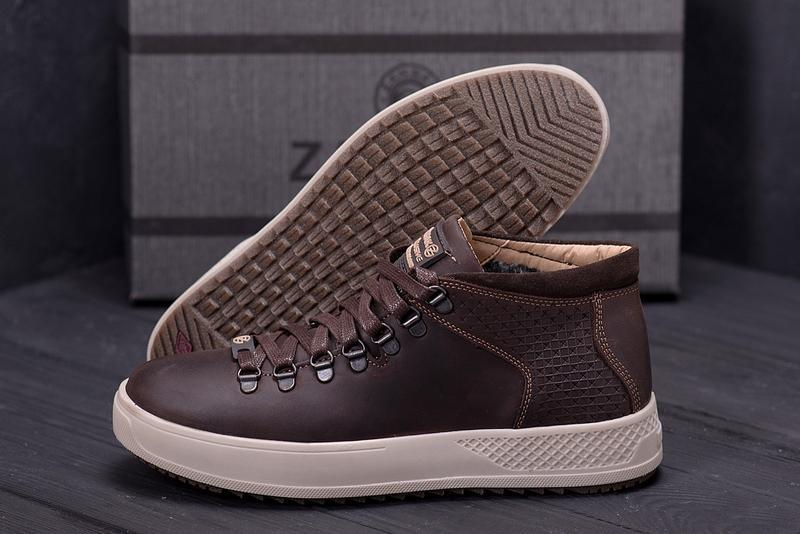 Мужские зимние ботинки {натуральная кожа} - Фото 6