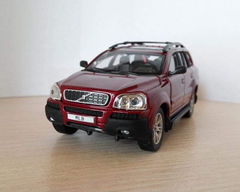 модель Volvo XC90, Cararama/Hongwell масштаб 1:43