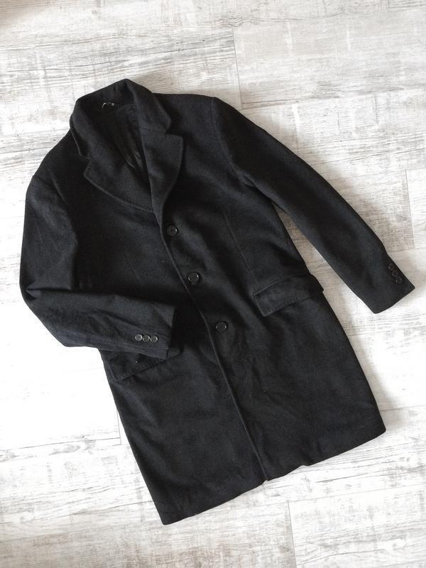 Кашемировое итальянское пальто унисекс (натуральное) principe