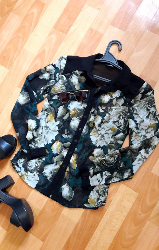 Красива блуза в принт
