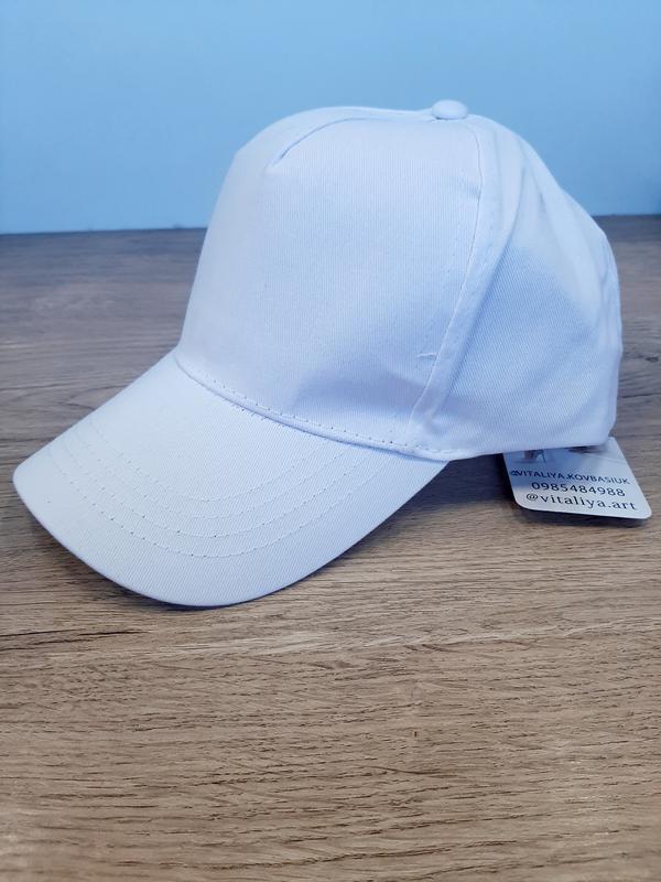 Кепка,белая кепка,кепка унисекс