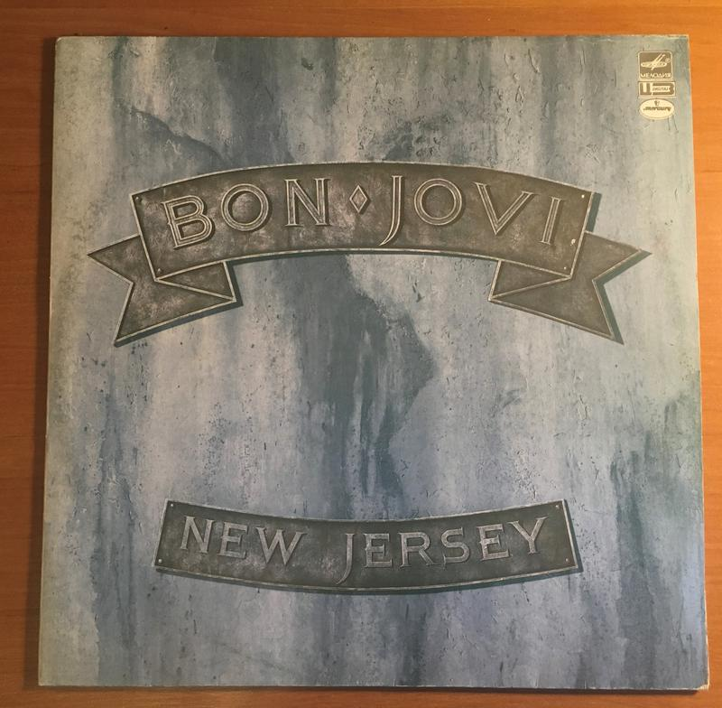 Bon Jovi – New Jersey 1989 LP / винил / пластинка