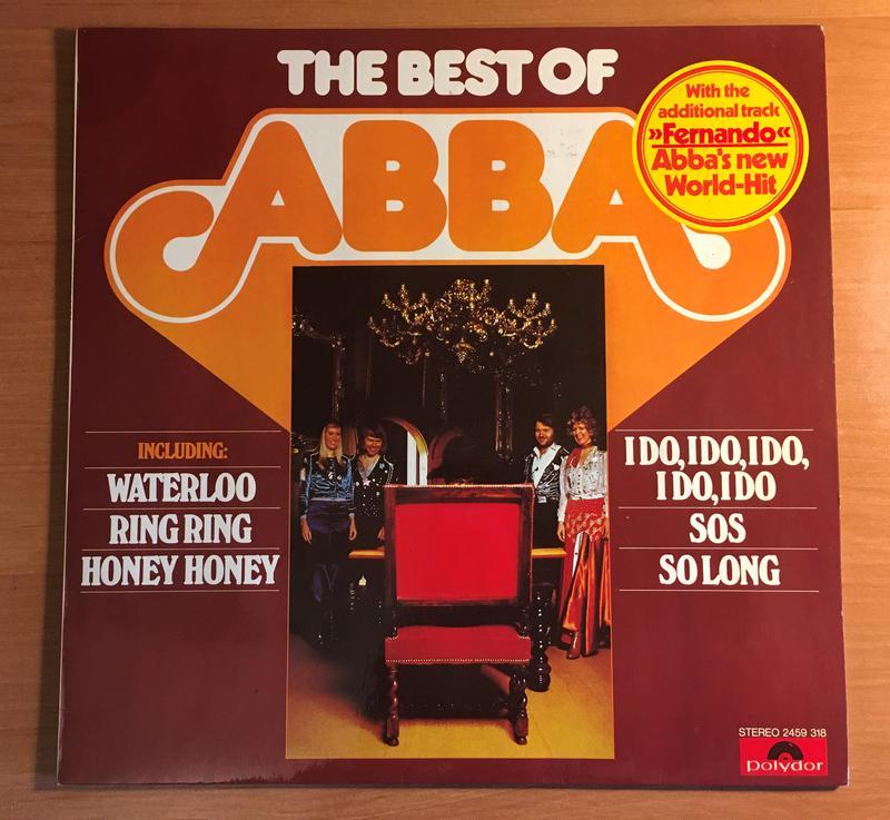 ABBA – The Best Of ABBA LP Germany 1976 / винил / пластинка