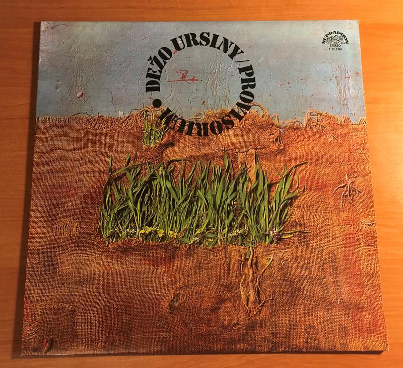 Dežo Ursiny - Provisorium 1975 LP / винил / пластинка
