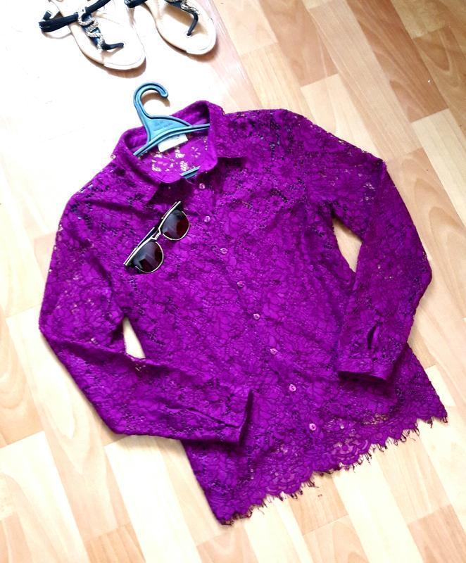 Крута мереживна блуза + топ