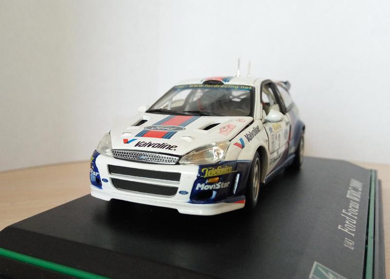 модель Ford Focus WRC 2000 Cararama/Hongwell, масштаб 1:43