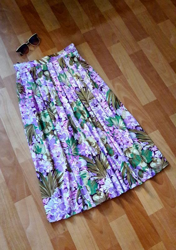Классная  цветная юбка миди canda