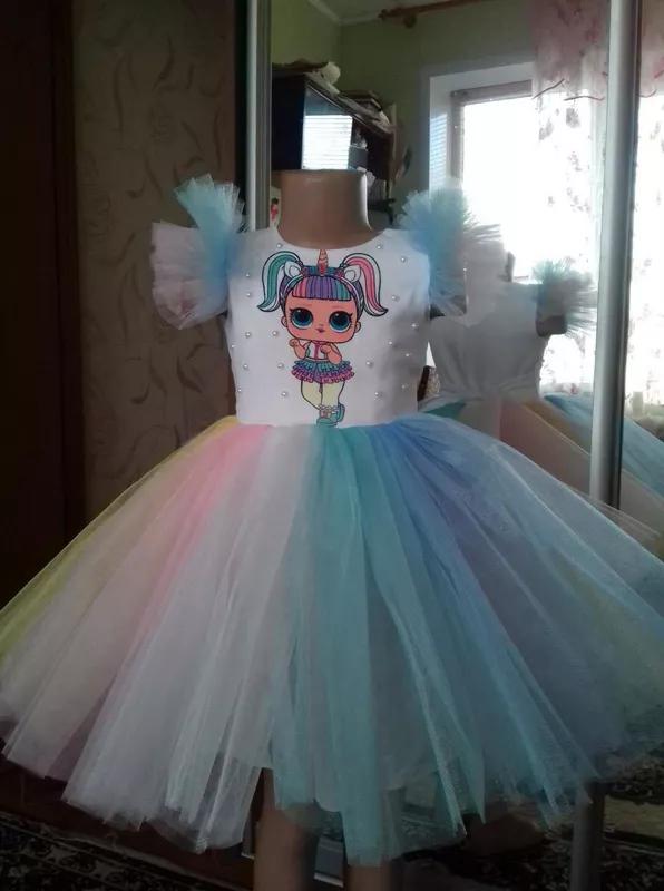 Платье лол,для принцесс,детской,любой рост