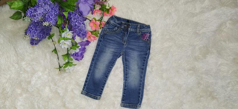 Модные джинсы Skinny для девочки