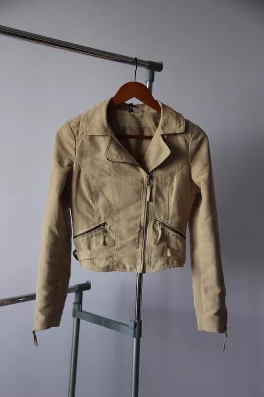 Куртка косуха под замшу H&M