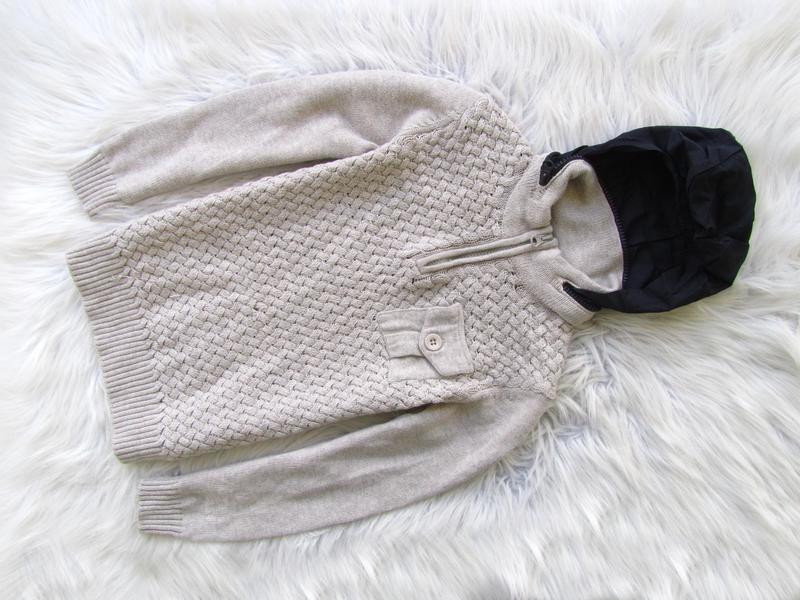 Свитшот кофта свитер джемпер худи с капюшоном massimo dutti