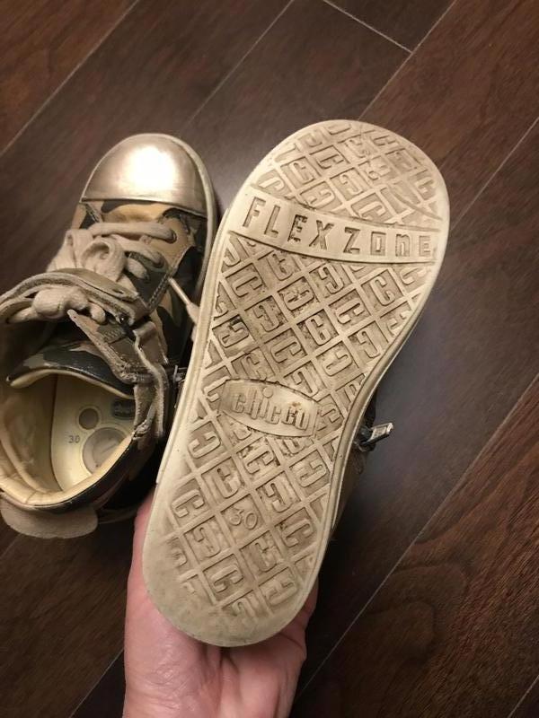 Кожаные ботинки CHICCO - Фото 4