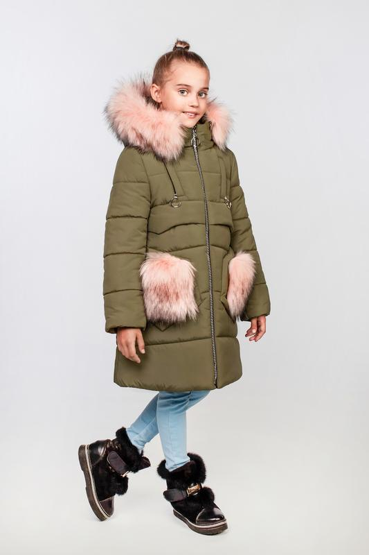 Пальто для девочки, подростковое, зимнее, герда.