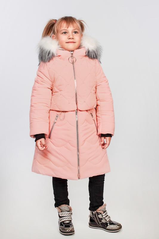 Курточка для девочки, подростковая, зимняя