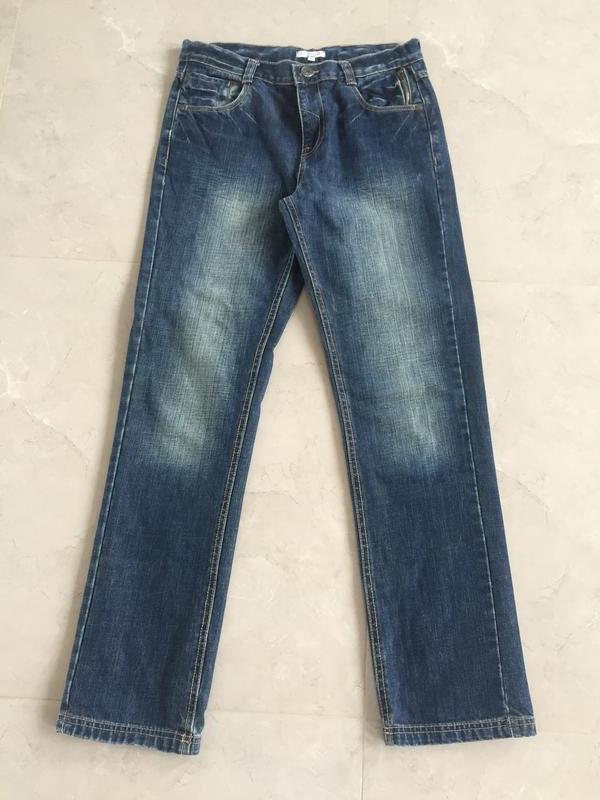 Прямые джинсы marks&spenser на мальчика 14лет, состояние новых...