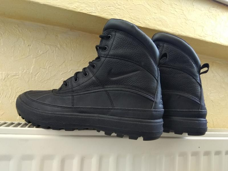 Зимние водонепроницаемые ботинки nike woodside zoom m2k monarc... - Фото 3