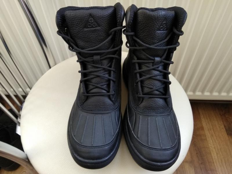 Зимние водонепроницаемые ботинки nike woodside zoom m2k monarc... - Фото 4
