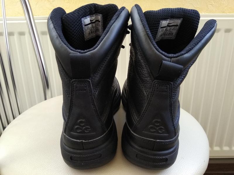 Зимние водонепроницаемые ботинки nike woodside zoom m2k monarc... - Фото 5