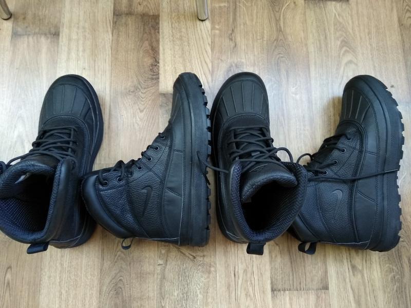 Зимние водонепроницаемые ботинки nike woodside zoom m2k monarc... - Фото 6