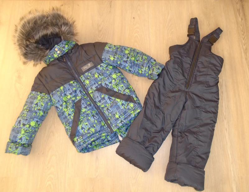 Теплый зимний комбинезон/куртка зимння/комбез/комбінезон