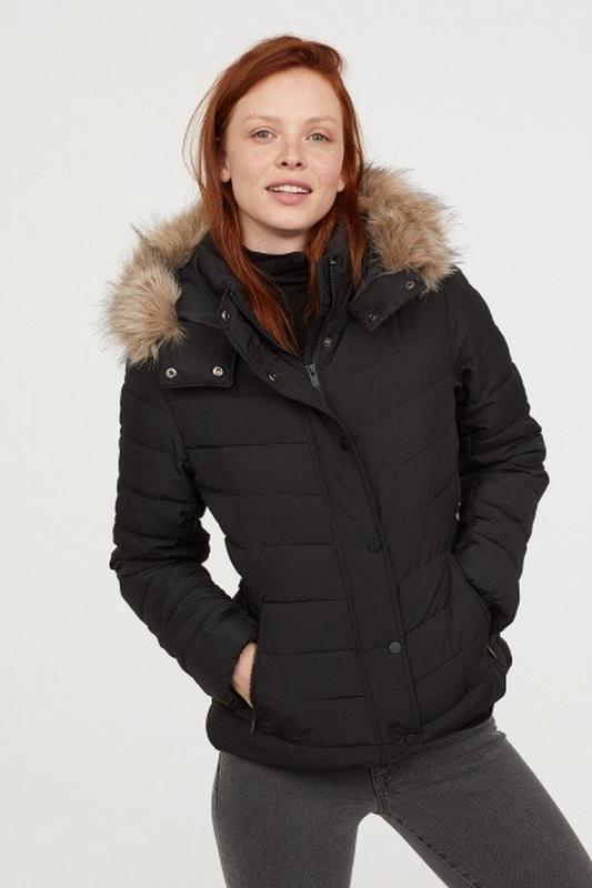Женская утепленная куртка h&m 40 размер