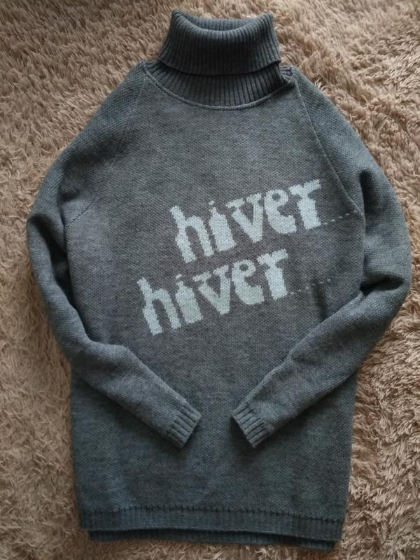 Нереально теплий,легкий красивий свитер, водолазка от mimosa.p...