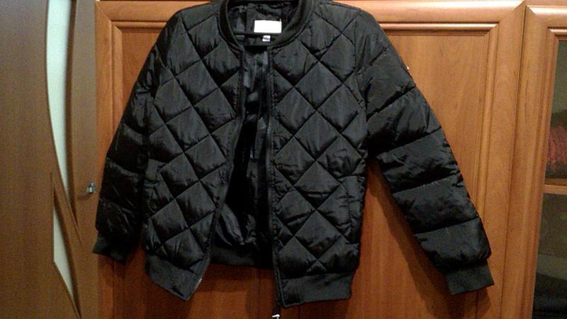 Куртка женская черная lady yep стеганка