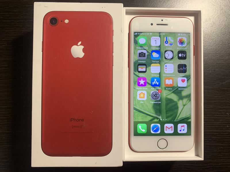 iPhone 7 Product Red 128gb Neverlock