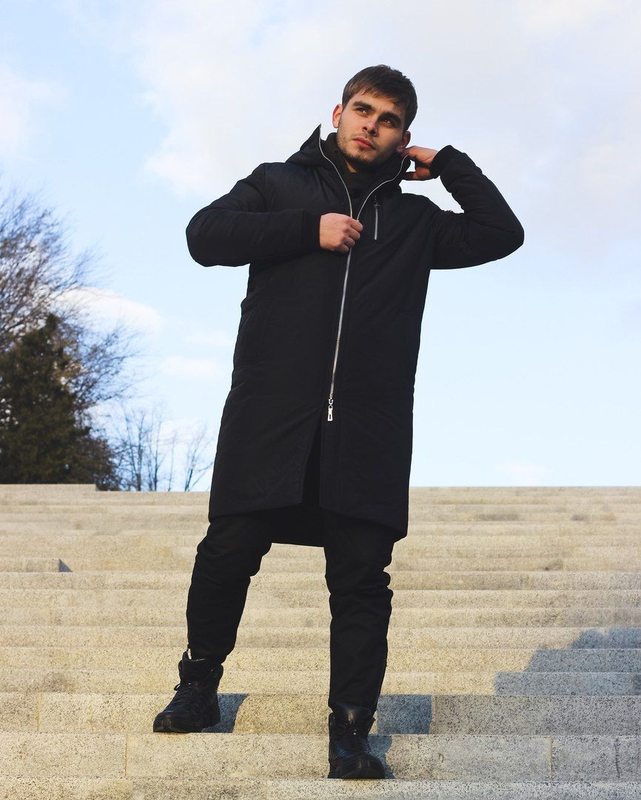 Мужская зимняя куртка - Фото 4