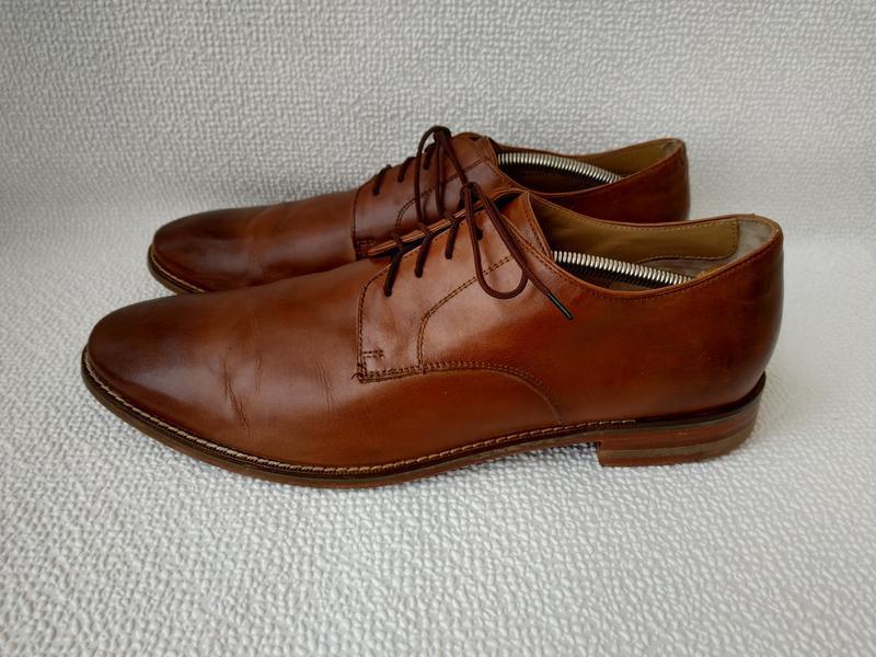 Стильные кожанные туфли cole haan оригинал в отличном состоянии
