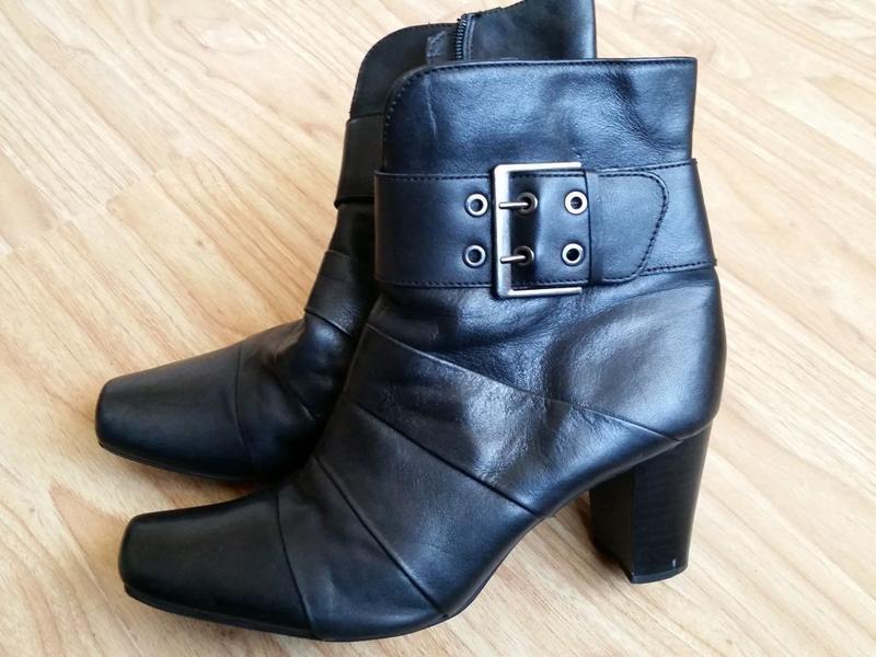 Ботинки кожа janet d