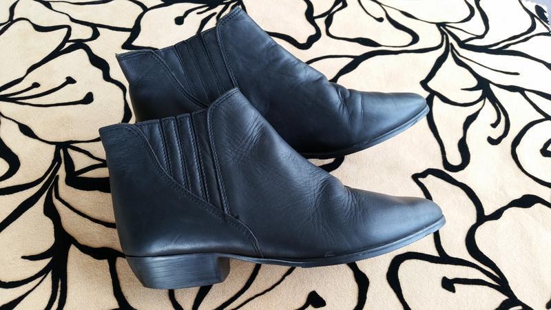 Ботинки женские кожа made in portugal