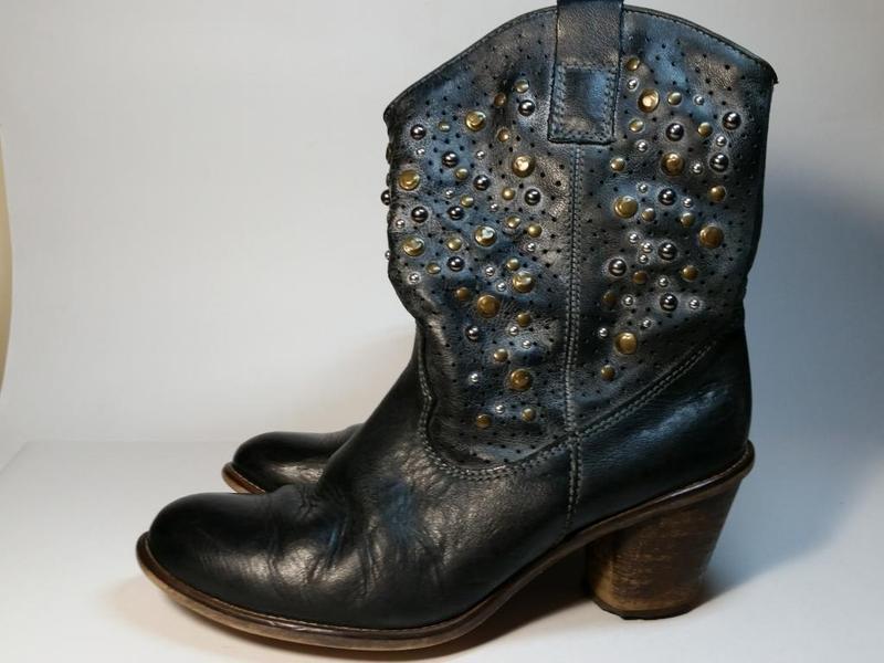 Ботинки кожа argentina