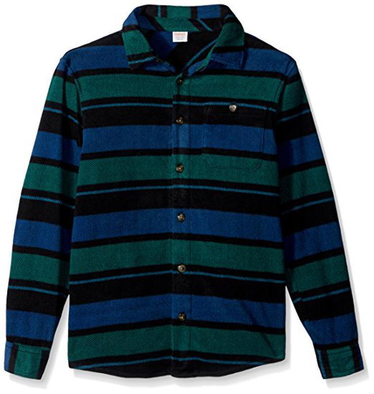 Флисовая рубашка для мальчика 7-8 лет gymboree