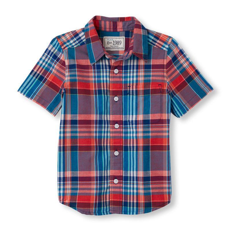 Рубашка для мальчика 4-5 лет children's place